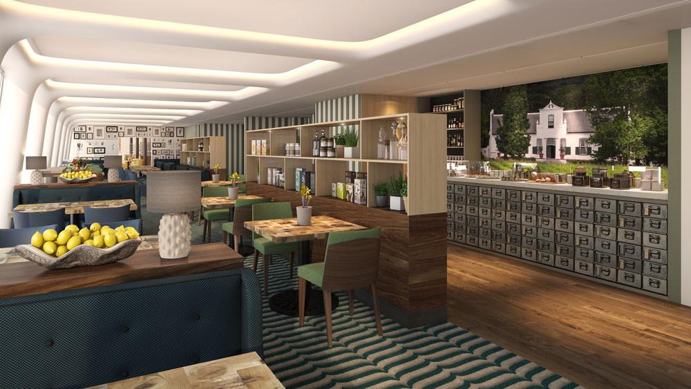 Cabine e aree catering per navi da crociera precetti srl for Mobili design srl